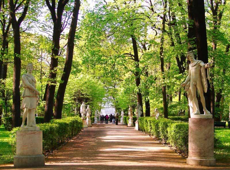 фото летний сад санкт петербург