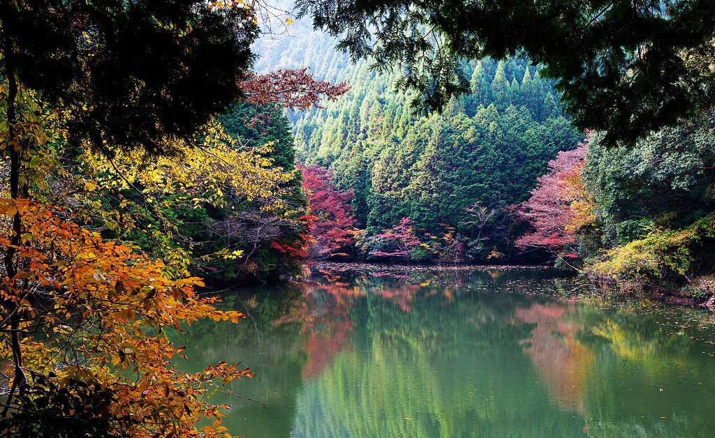 Озера Японии картинки