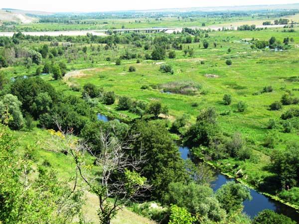 Реки Воронежской области. Река Битюг