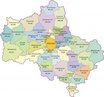 Карта Водоносных Слоев Калужской Области